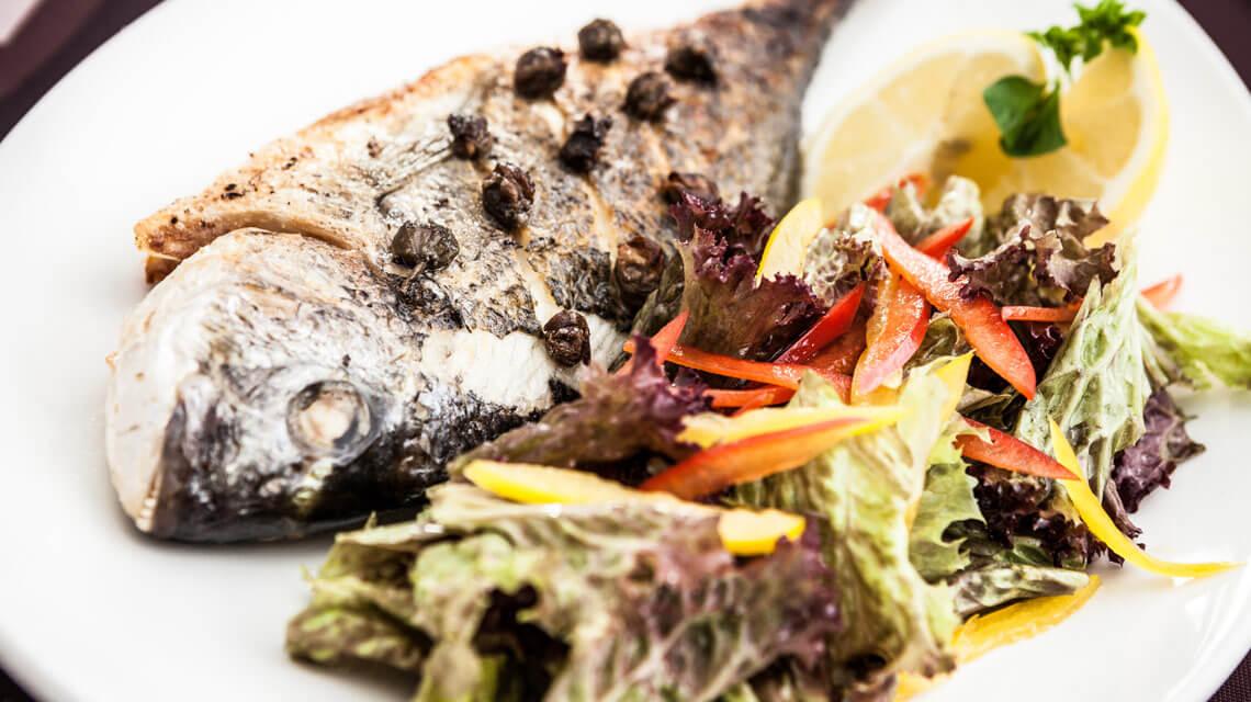 Palmeri-Catering Hauptspeise