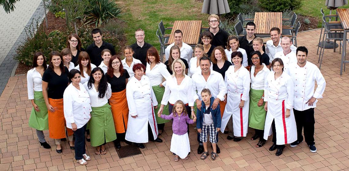 Team von Palmeri Catering