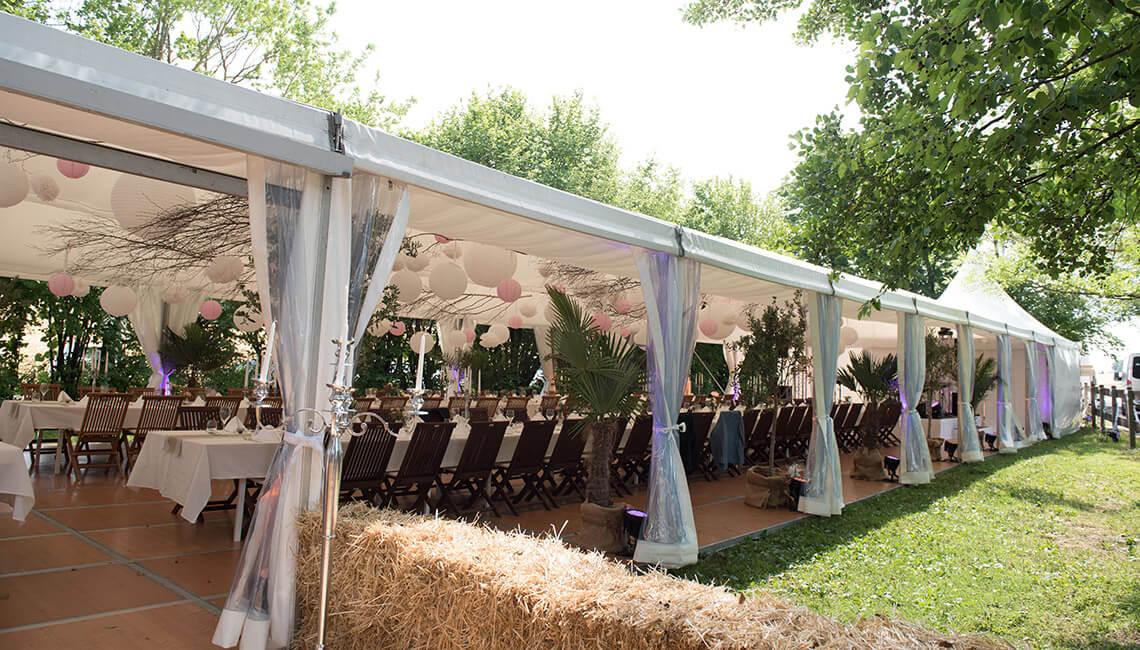 Palmeri Catering - Hochzeitstafel